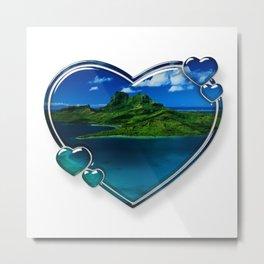 I Love Bora Bora 2 Metal Print