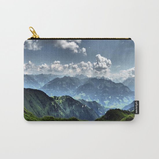 Mountain Peaks in Austria Carry-All Pouch