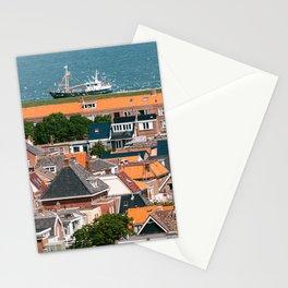 Famous dutch dyke I Den helder I Holland I live below waterlevel I Art print I Travel photography Stationery Cards