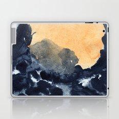 Yellow moon Laptop & iPad Skin