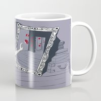 mirror Mugs featuring mirror by liva cabule