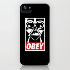 Obey Darth Vader - Star Wars iPhone (5, 5s) Slim Case