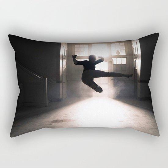 Jump contre jour Rectangular Pillow
