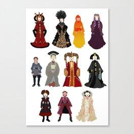 Queen's Closet Canvas Print