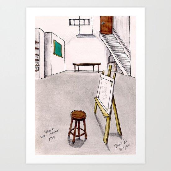 MEMORIES OF MY INNER CHILD 1# - Art Studio Art Print
