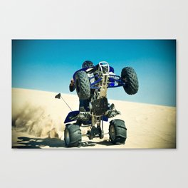 wroom Canvas Print