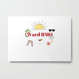 Ward RMO on vacation Metal Print