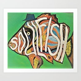 Soulfish Art Print