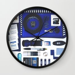 Junk Drawer: Azure Wall Clock