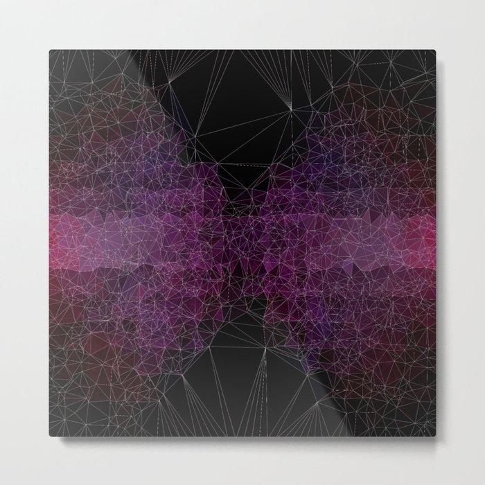 Abstract Polygons Metal Print
