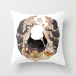Helloween Throw Pillow