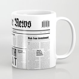 The Fake News Vol. 1, No. 1 Coffee Mug