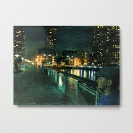 the right profile Metal Print