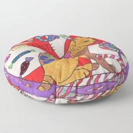 Cats can not taste Sweets Floor Pillow
