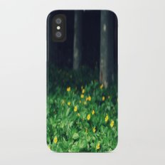 Wild Flowers iPhone X Slim Case