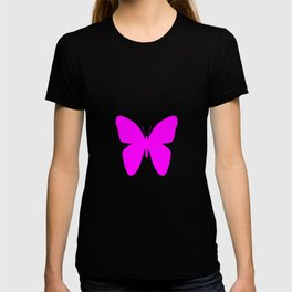 Pink Butterfly For Pink People T-shirt