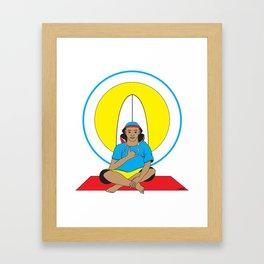 Surf Religion Framed Art Print