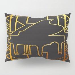 Art Deco Piano Pillow Sham