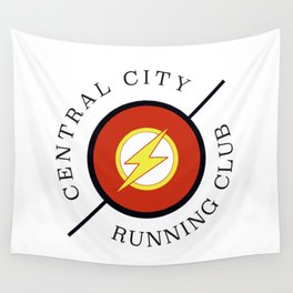 Central City running club Wall Tapestry