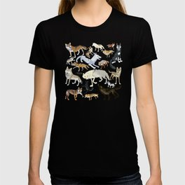Wolves of the world 1 T-shirt
