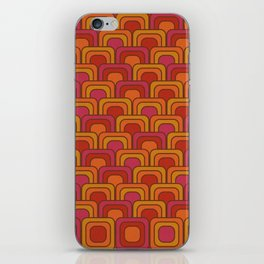 Geometric Retro Pattern iPhone Skin