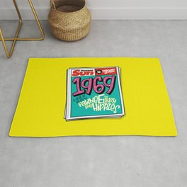 Lousy With Hippies (PAR102) Rug
