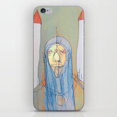 Daniel Rocket Moon iPhone & iPod Skin