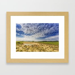 Prairie Pond Framed Art Print
