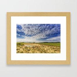 Prairie Pond Framed Art Print