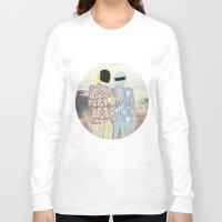 daft punk Long Sleeve T-shirts featuring Daft Punk. by Lucas Eme A