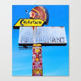 The Chieftain Canvas Print
