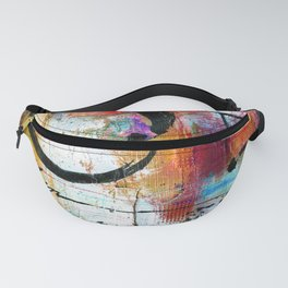 Enso Abstraction No. mm15 Fanny Pack