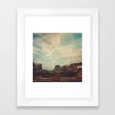 Fractions A15 Framed Art Print