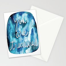 You Are Treasured Stationery Cards