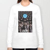 mass effect Long Sleeve T-shirts featuring Mass Effect by LOSKA