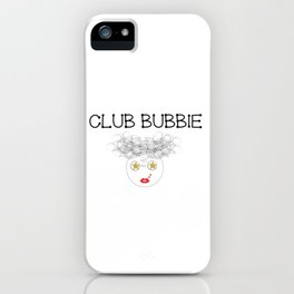 Club Bubbie iPhone Case