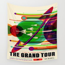 Vintage poster - The Grand Tour Wall Tapestry
