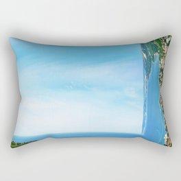 sea panorama Rectangular Pillow