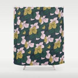 Jungle Floral Shower Curtain