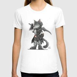 Black Knight Nubelung Cat T-shirt