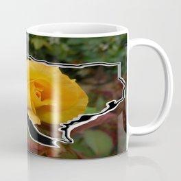 Yellow Rose of Texas with Texas Coffee Mug