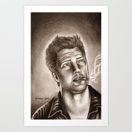 Joshua Homme Art Print