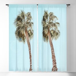 Single Palm Blackout Curtain
