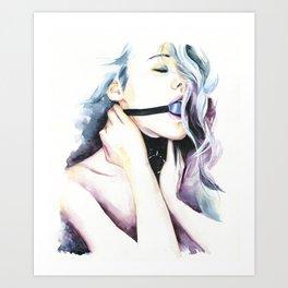 Refined pleasures Art Print