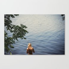 One, Two, Three Canvas Print