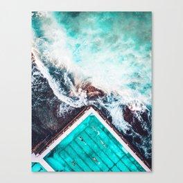 Sydney Bondi Icebergs Canvas Print
