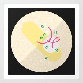 French Omelette Art Print