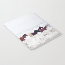 Winter Horseland Notebook