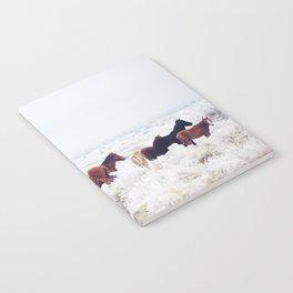 Winter Horseland Notebook