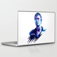 mad max Laptop & iPad Skins featuring Mad Max : BAD ACTORS by mergedvisible